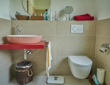 Artis Waschbecken mit WC